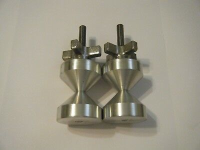 Davis 2-two Hole Pin--6061 Aluminium- 38-16 Quick Knob