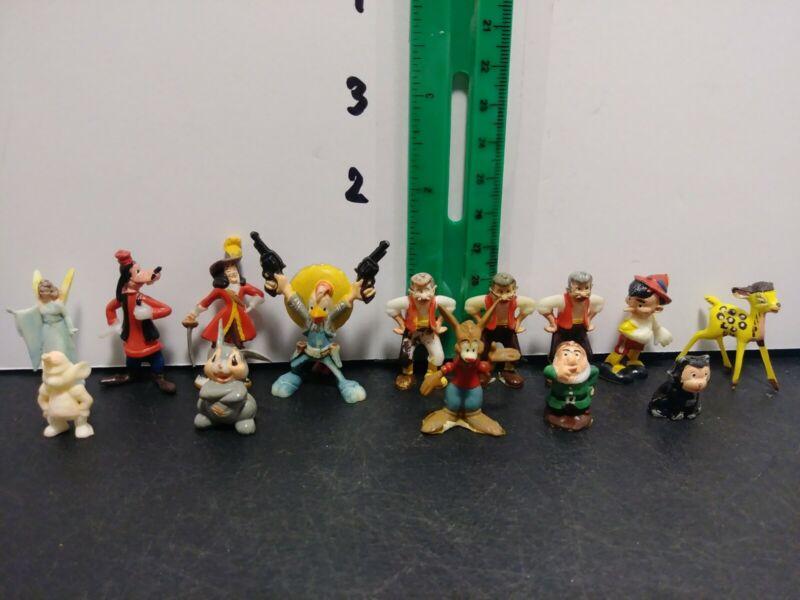 Lot Of 14 Marx Disneykins Figures