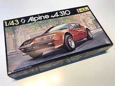 Alpine A310 V6 phase 1 kit Heller 1:43 unopened plastic bags