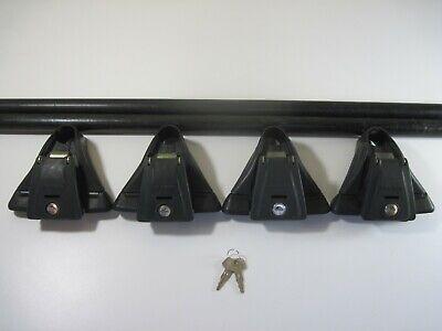 Inno XS100 Aero Base Stays Towers for Raised Siderails w// locks /& keys