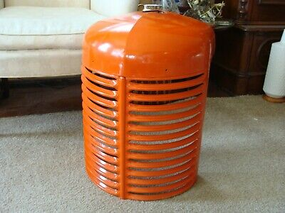 Case 1940s S Tractor Front Grill Grille Nose Cone Nice Shape Restored