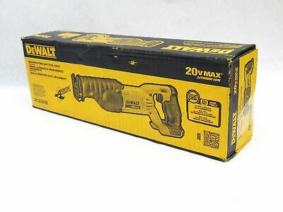 DEWALT DCS380B 20-Volt MAX Li-Ion Reciprocating Saw, Bare To