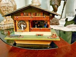 Collectibles - Reuge - Cuckoo Clock - Swiss Musical Movement