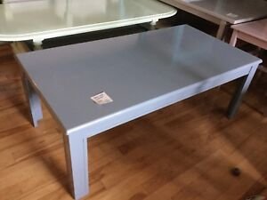 Blue coffee table-