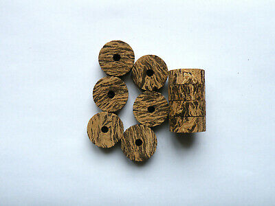 """FREE SHIP WORLDWIDE!!!! 100 CORK RINGS OVERSTOCK FLOR 11//4/""""X1//2/"""" BORE 1//4/"""""""