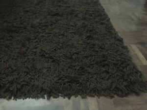 Tapis poil long 5'X7'