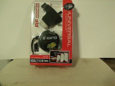 Mad Catz Universal RF Adapter XBOX & 360, PS1/23 SLIM, GAMECUBE, N64 SNES NEW for sale  Shipping to India