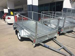 7X4 BOX TRAILER GALVINISED Clontarf Redcliffe Area Preview