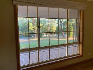 Aluminium Windows & 3-Bay Sliding Door for sale -house lot or separate