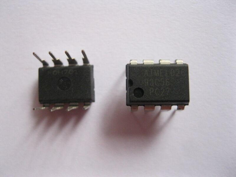 5 Pcs Ic Chip 93c56 Dip 8 Pin Transistor