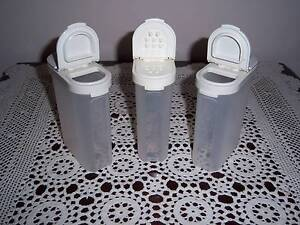 Retro Vintage Tupperware Modular Mates Spice Containers Large (3) East Cannington Canning Area Preview
