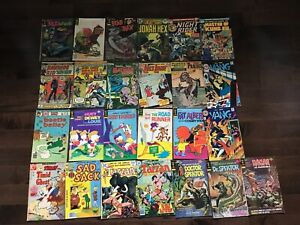 Gold Key Whitman 25 Comic Book Lot