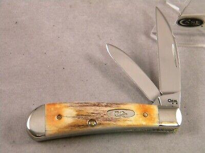CASE XX T. B. 52117 SS SWAY BACK JACK KNIFE ~ 2008 ~ STAG ~ TONY BOSE DESIGN
