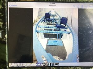 for sale one rare 20 foot Grand Banks dory and trailer