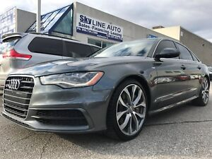 2012 Audi A6 HEAT AND COOL SEATS|ALLOY WHEELS|LEATHER SEATS|SUN