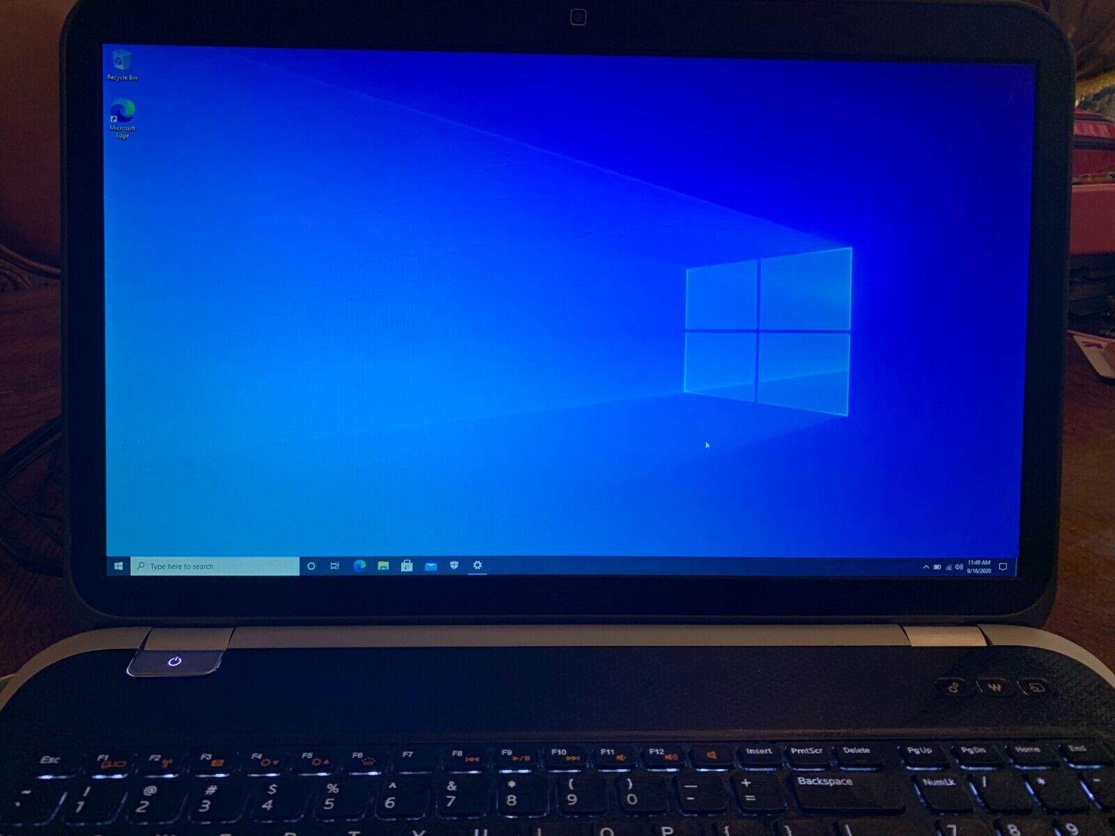 Laptop Windows - Dell Inspiron 17R 7720! Core i7! 8GB RAM! 1TB HD!! Windows 10 Home!!