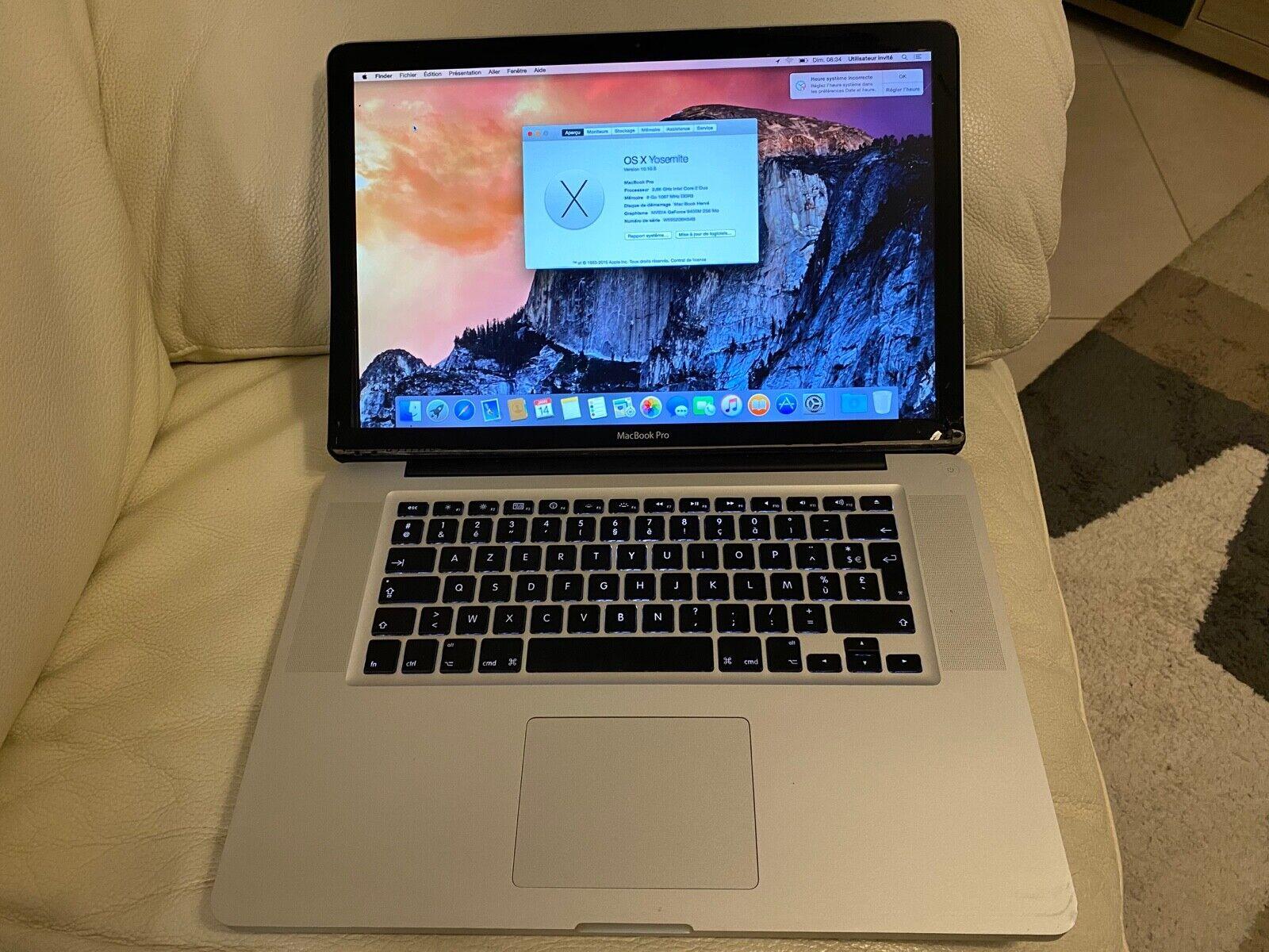 Macbook pro 15 pouces, mi-2009