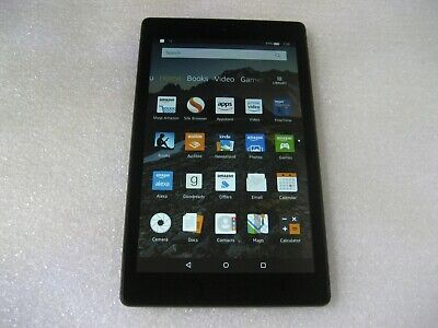 "Amazon Kindle Fire HD 8 (7th Gen), 16GB, Wi-Fi, 8"" Tablet - SX034QT - Black"