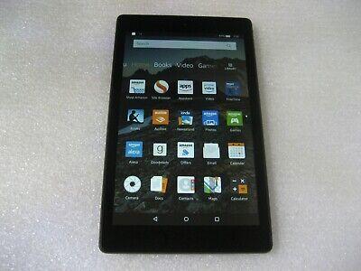 """Amazon Kindle Fire HD 8 (7th Gen), 16GB, Wi-Fi, 8"""" Tablet - SX034QT"""
