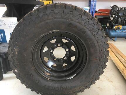 33 inch; Mickey Thompson BAJA ATZ P3 Tyre & Rim