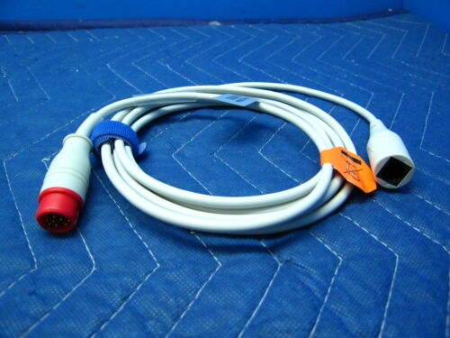 Philips Invasive Blood Pressure Cable  IBP Medex Abbot Transpac 6 Pin  MP   NEW
