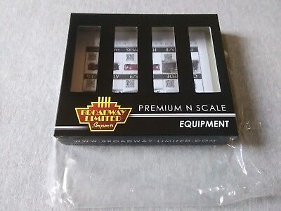 Broadway Limited N H32 Covered Hopper PRR Gray 4-Pack B  #3168 Empty Box ~ TS