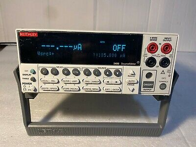 Keithley 2400 Sourcemeter The Latest Version