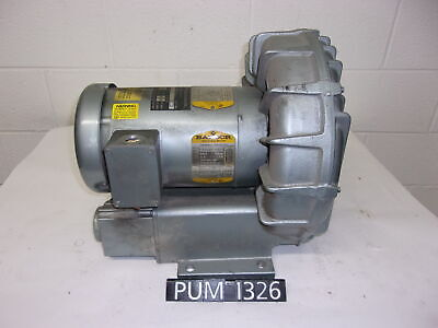 Gast Air Pump With Motor R5325a-2 2.5 Hp 208-230460 Volt Pum1326
