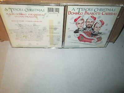 THREE TENORS CHRISTMAS - DOMINGO PAVAROTTI CARRERAS rare cd 23 songs  ()