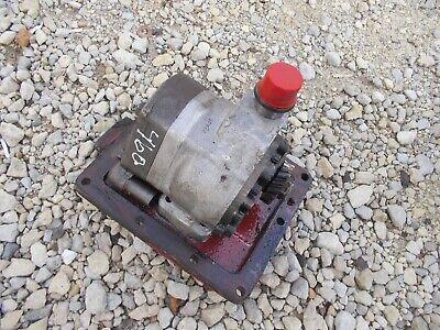 Farmall Ih 460 Tractor Ih Hydraulic Pump Assembly Gear Cover Panel