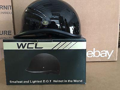WCL Polo WORLD'S SMALLEST LIGHTEST DOT BEANIE HELMET Gloss BLACK 2XL