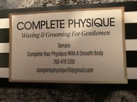 NOW OPEN. WAXING, SUGARING, & MANSCAPING 4 ALL U GENTS OUT THERE