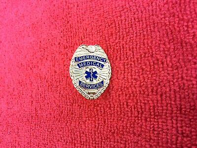 EMERGENCY MEDICAL SERVICES HAT/LAPEL PIN