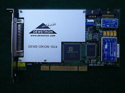 Dewetron Dewe-orion-1624 Pci Ad Data Acquisition Board