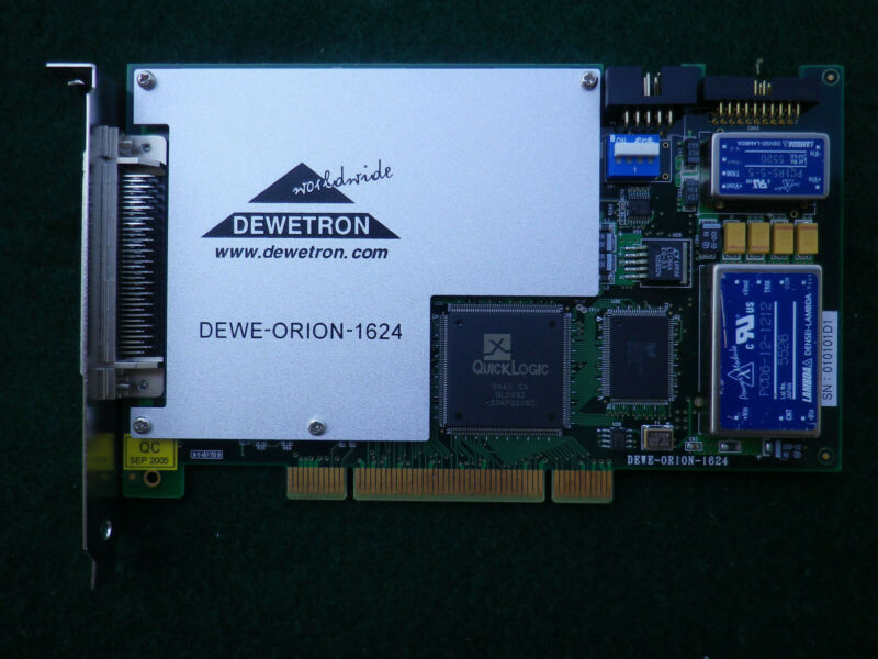Dewetron Dewe-Orion-1624 Pci A/D Data Acquisition Board