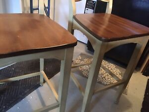 Bar Height Chairs x 2 Pier One