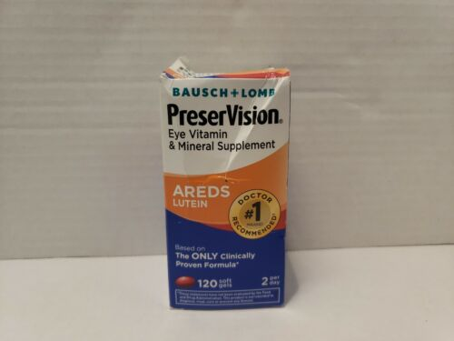 Bausch + Lomb Eye Vitamin and Mineral Supplement AREDS LUTEI