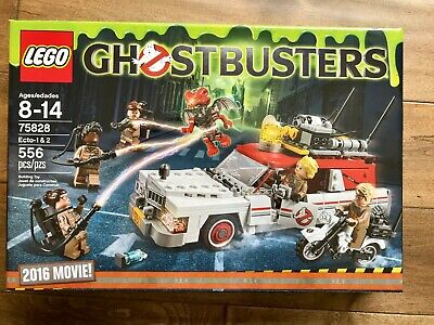 Lego 75828 Ghostbusters Ecto-1 & 2 New Sealed