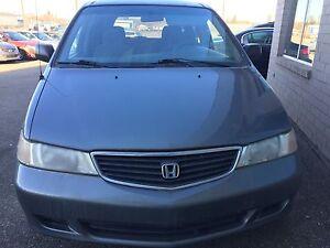 Low low kms   2001 Honda Odyssey