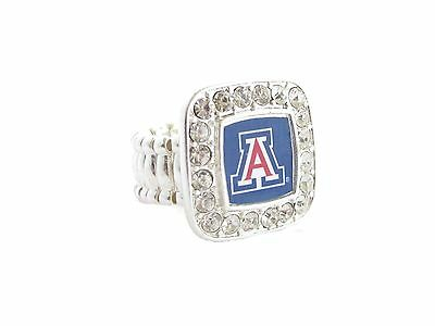 Arizona Wildcats Stretch Ring Jewelry UA Arizona Wildcats Wildcat Ring