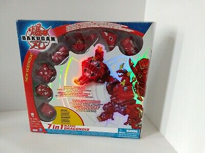 Bakugan Battle Brawlers 7 in 1 Maxus Dragonoid New In Sealed Box Rare