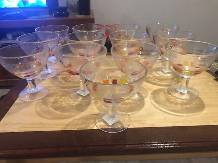 Cocktail bowls