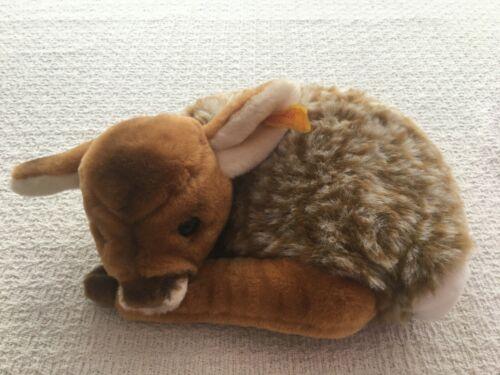 Vintage Steiff Germany Fawn Deer Lorli Lying Down w/ Button & Tag ~ 1831/20