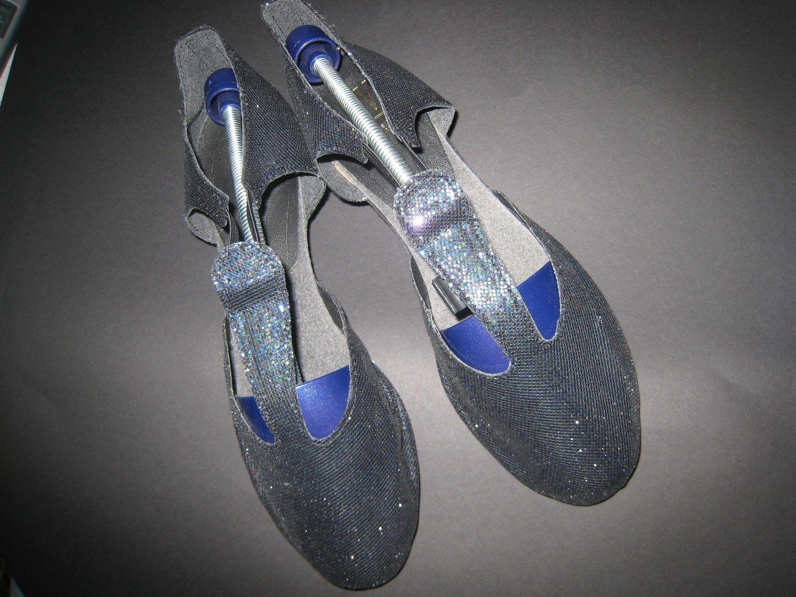 NEUE Tanzschuhe - griechische Sandalen, Roch Valley, Gr. 41, Hologrammstoff