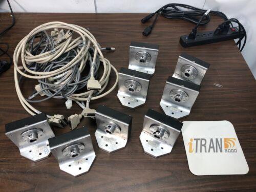 NCR iTran 8000 Check Scanner Reader Camera Units 4 Sets of Cameras w/cables