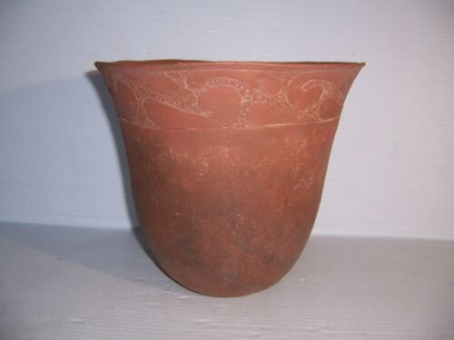 Pre-Columbian Native American Indian Caddo / Mississippian Pottery Jar Artifact