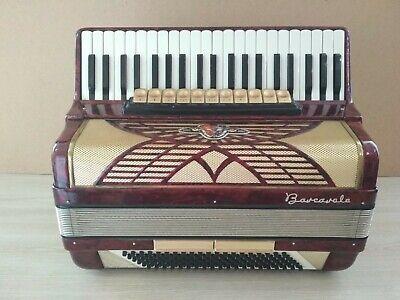 Old accordion BARCAROLE 120 bass Germany.