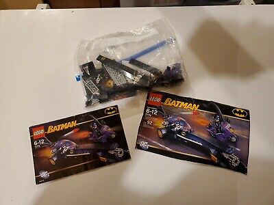 LEGO Batman The Dragster Catwoman Pursuit (7779) Used 100% Complete w box cover