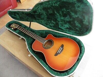 YAMAHA APX-7A ELECTRO ACOUSTIC GUITAR WITH HISCOX LITEFLITE CASE
