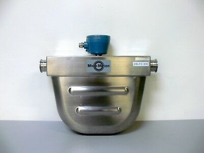 Micro Motion H200s352nwbmezzzz Mass Flow Sensor Flow Meter 2 Tri-clamp